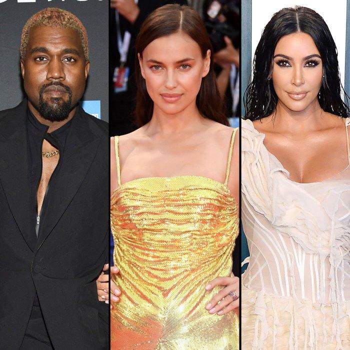 Kanye West está saliendo con Irina Shayk en medio del divorcio de Kim Kardashian