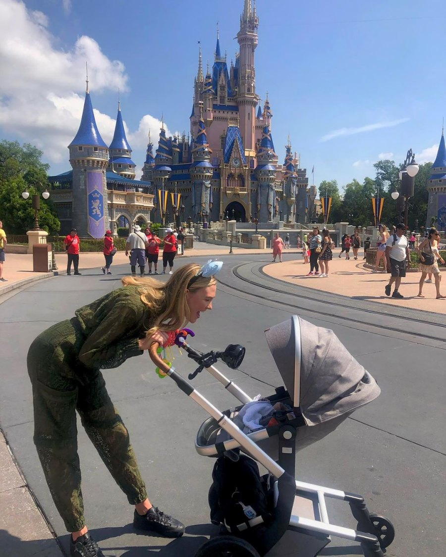 Happiest Place on Earth! Karlie Kloss Brings 3-Month-Old Son Levi to Disney
