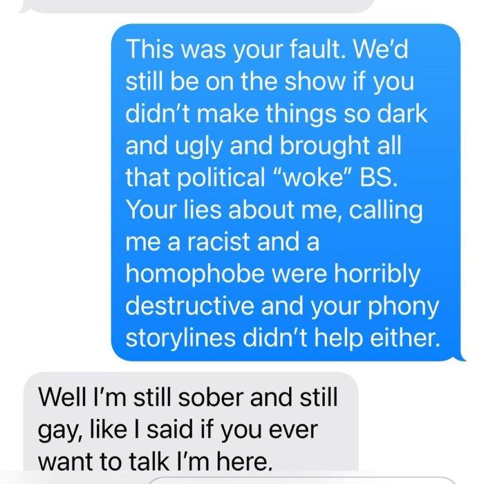Kelly Dodd culpa a Braunwyn por haberlos despedido de 'RHOC': lea su ardiente intercambio de texto