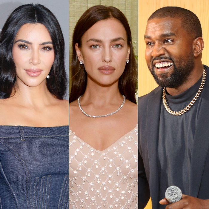 ¡Aprobado!  Kim Kardashian cree que Irina Shayk encaja perfectamente con Kanye West