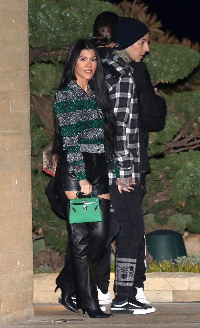 Kim Kardashian Has Fun With Travis Barker After Denying Hookup Claims Kourtney