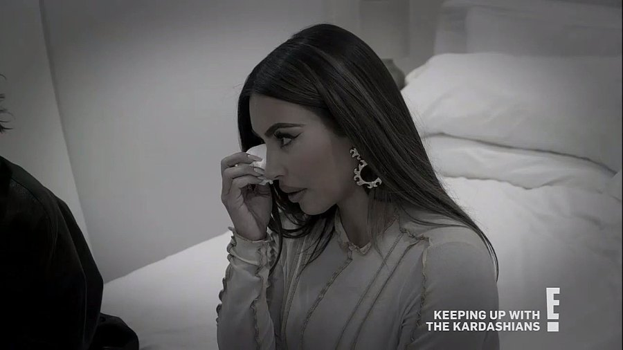 Kim Kardashian and Kanye West Ups and Downs Crying Season 20