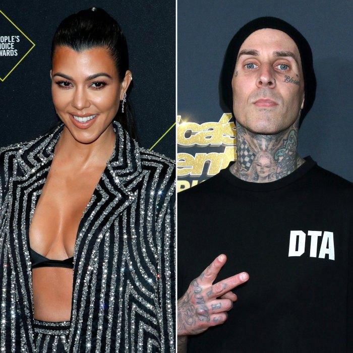 Kourtney Kardashian muestra su amor por Travis Barker con una sudadera con capucha Blink-182