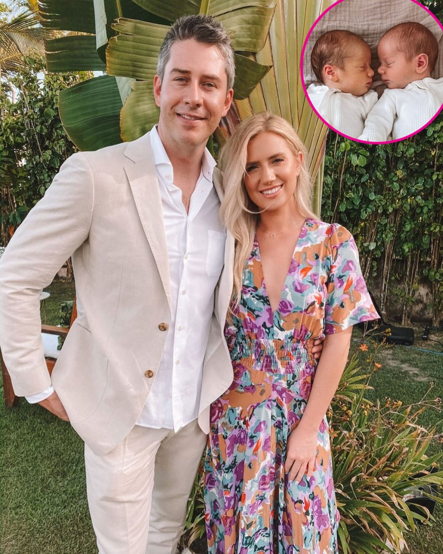 Lauren Burnham and Arie Luyendyk Jr. Twins Senna and Lux's Cutest Pics Together