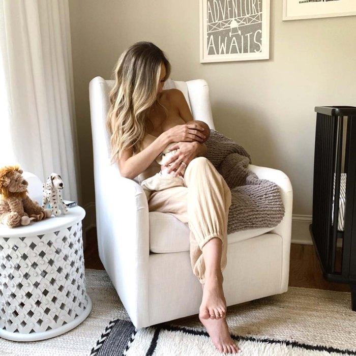 Lauren Bushnell describe el dolor y la frustración al amamantar a un bebé