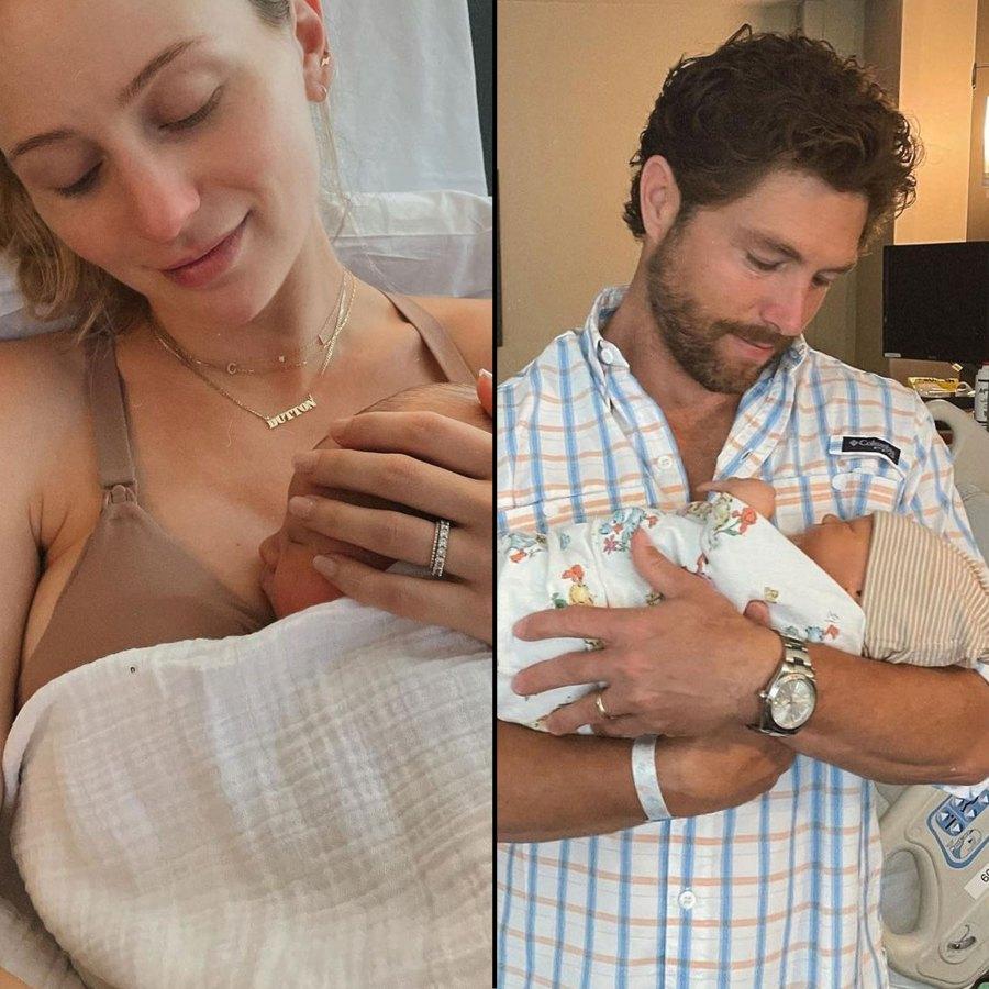 Lauren Bushnell and Chris Lane Welcome Son Dutton