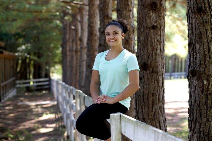 Laurie Hernandez Trastornos alimentarios pasados Se volvió obsesivo y poco saludable