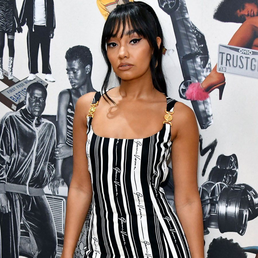 Little Mixs Leigh Anne Pinnock Gives Birth Welcomes 1st Child With Fiance Andre Gray