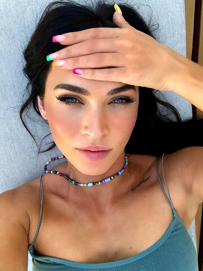 Megan Fox celebra su bisexualidad durante el mes del orgullo