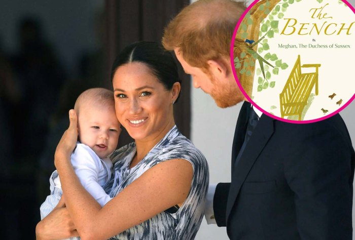 Meghan Markles Picture Book The Bench Features Adorable Illustration Prince Harry Son Archie