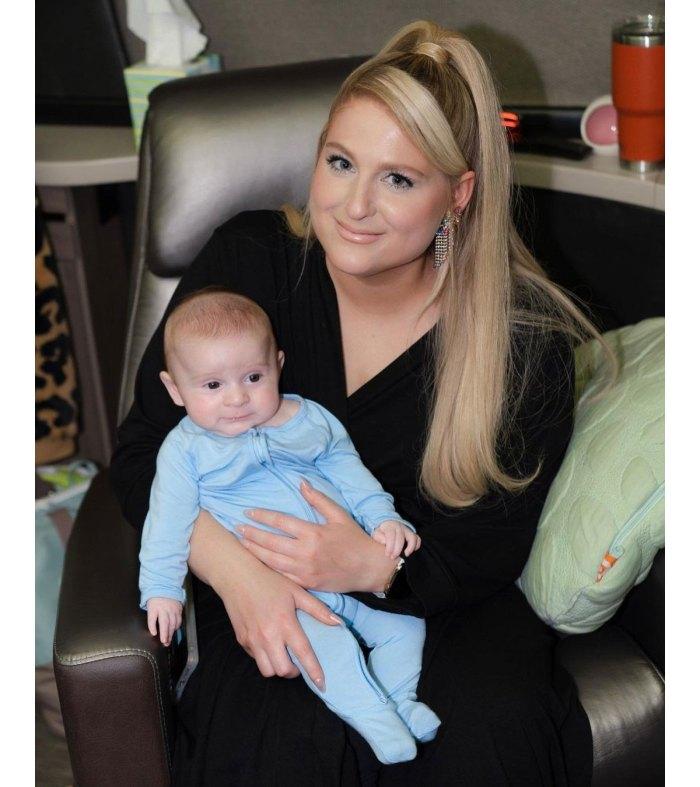 Meghan Trainor reflexiona sobre las aterradoras complicaciones del nacimiento de Son Riley 2