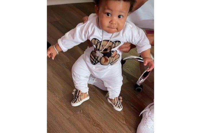 Nicki Minaj da un vistazo poco común a su hijo de 8 meses que intenta caminar 3