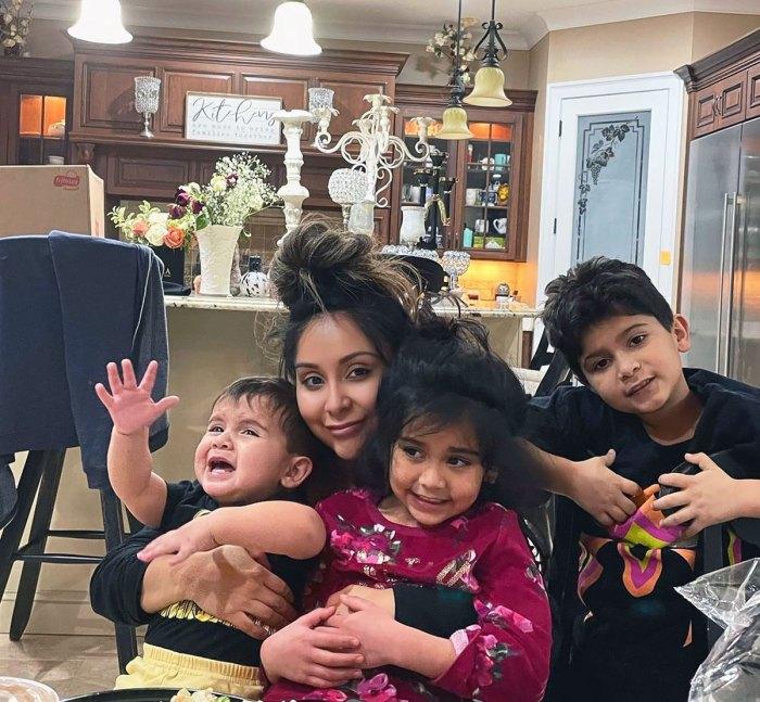 Los niños de Nicole 'Snooki' Polizzi piensan que ella es una 'actriz' y que 'Jersey Shore' no es 'real'