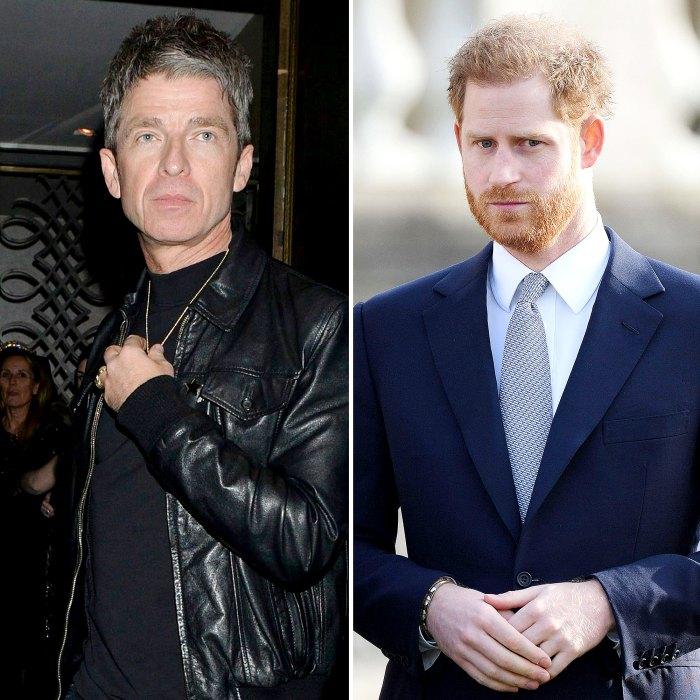 Noel Gallagher llama al príncipe Harry Wake Snowflake después de los comentarios de la realeza