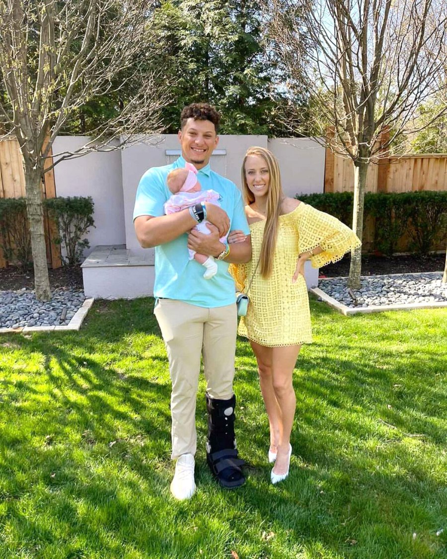 Patrick Mahomes Brittany Matthews Family Photos With Daughter Sterling