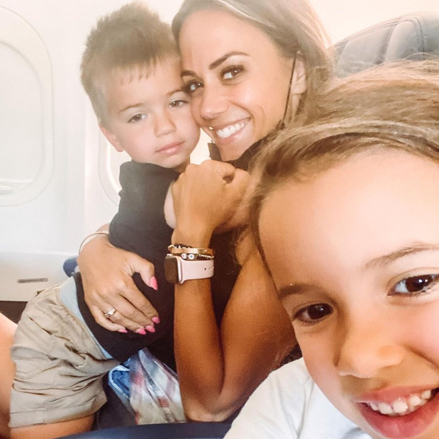 Plane Pic! See Jana Kramer's Sweetest Photos With Daughter Jolie and Son Jace