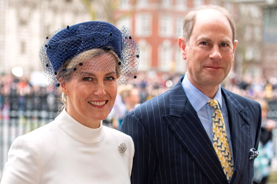 Prince Edward and Sophie Where Do Harry and Meghan Stand With the Rest of the Royal Family