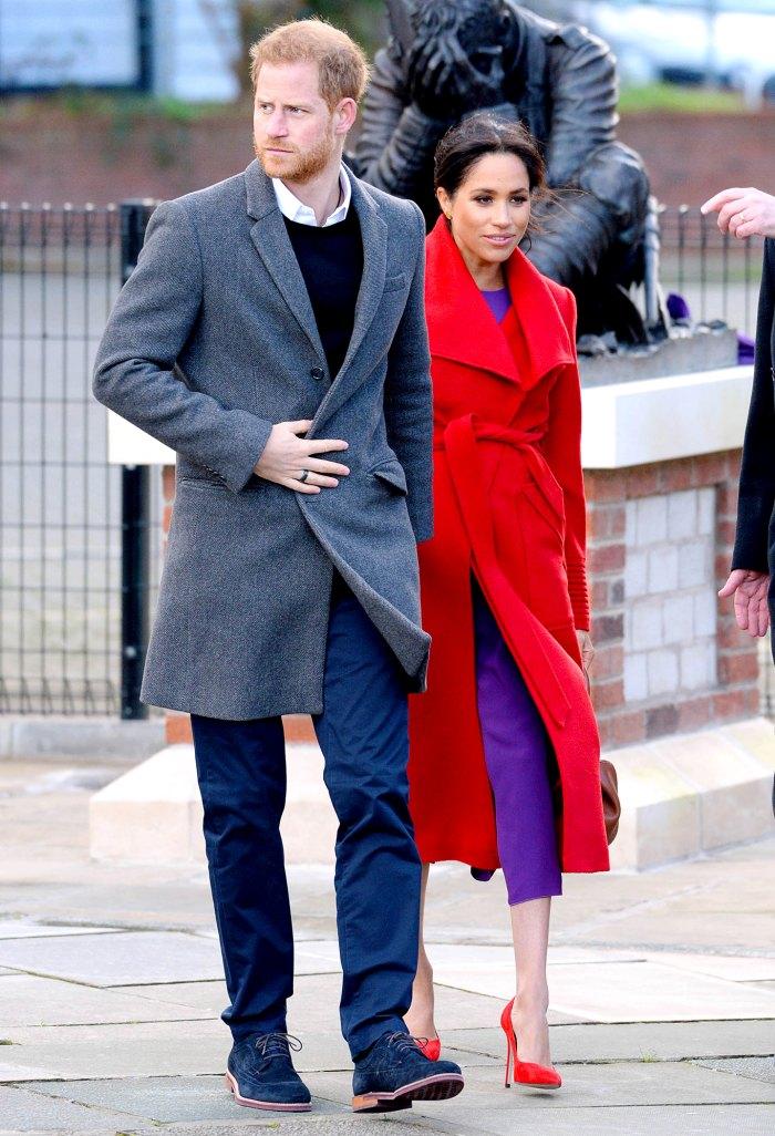 El príncipe Eduardo y su esposa Sophie ignoran la pregunta sobre el cuento del príncipe Harry y Meghan Markle