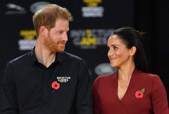 El príncipe Harry y Meghan Markles, la hija absolutamente hermosa Lilibet se parece a ellos
