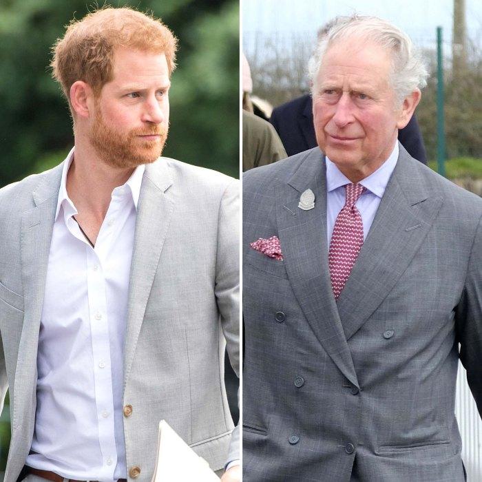 La falta de contacto del príncipe Harry con el príncipe Carlos es lamentable