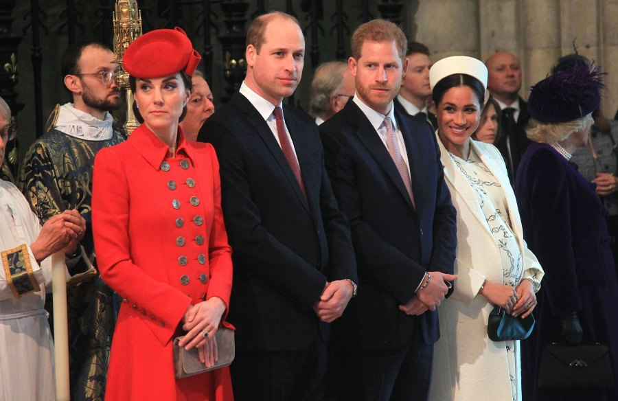 Prince William and Duchess Kate Relationship With Prince Harry and Meghan Markle