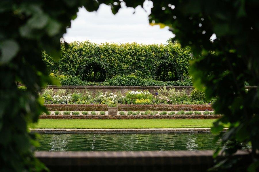Princess Dianas Statue Location Took 1000 Hours Includes 400m Turf