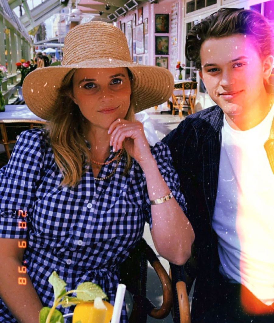 LOL! Reese Witherspoon Is 'Trying to Convince' Son Deacon to Start a Band