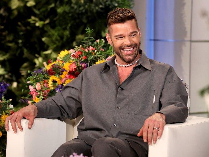 Lucía, la hija de 2 años de Ricky Martin, 'no lo deja' cantar