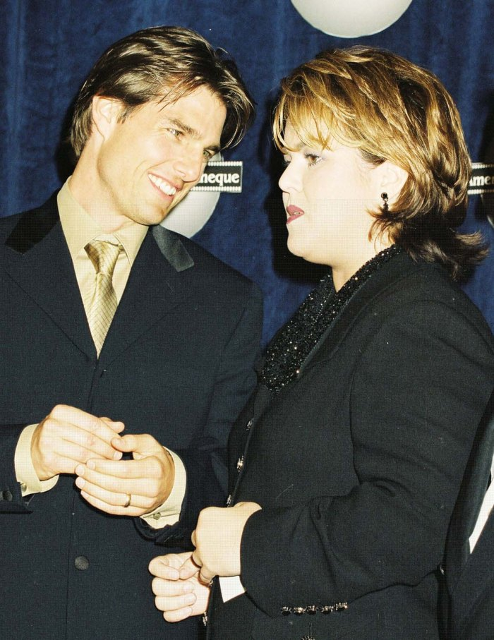 Rosie ODonnell Details 25 Year Friendship With Classy Guy Tom Cruise