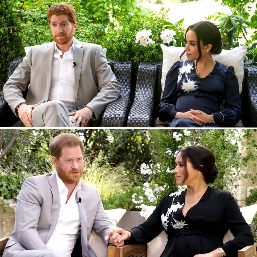 See Lifetimes Harry & Meghan Stars Side Side Royals Photos