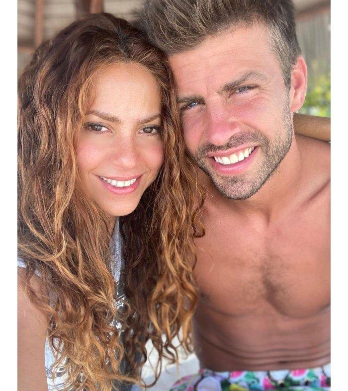 Shakira comparte una rara foto de ella y Gerard Piqué, su hijo Sasha 3