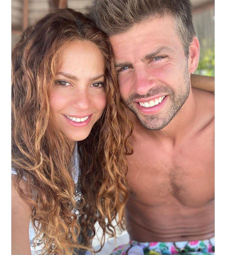 Shakira Shares Rare Photo of Her and Gerard Pique Son Sasha 3
