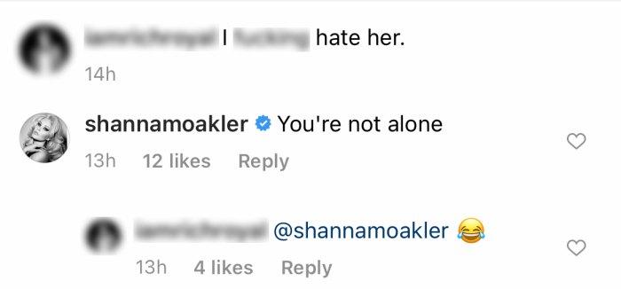 Shanna Moakler implica que ella