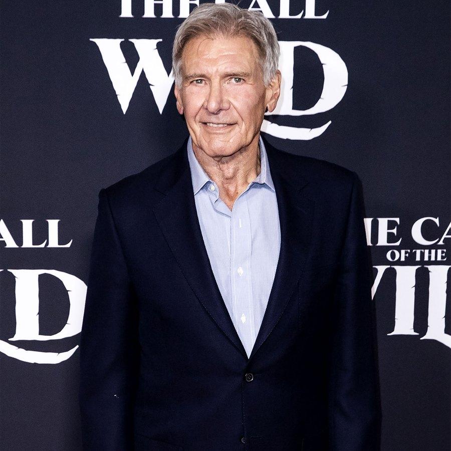 Stars Injured on Set Harrison Ford