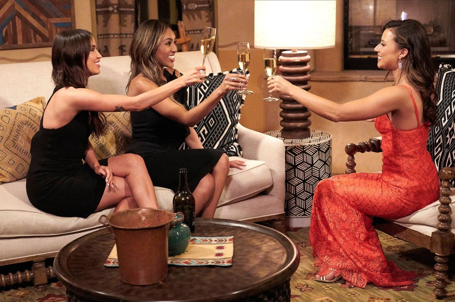 Start of Something New Everything Tayshia Adams and Kaitlyn Bristowe Said About Katie Thurston Bachelorette Journey