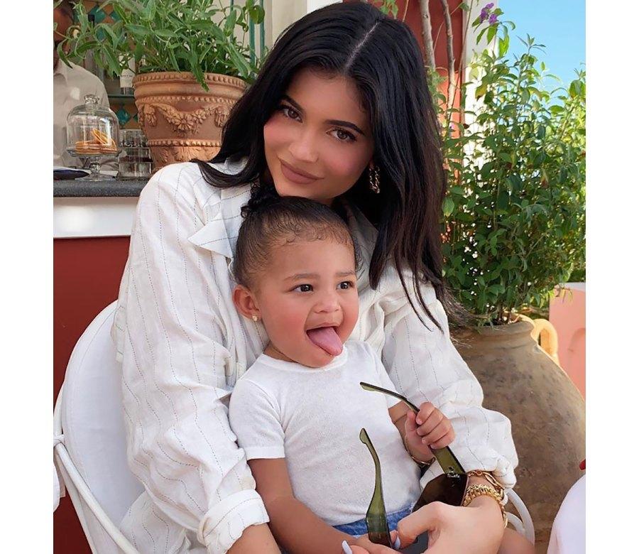 Stormi Webster Helps Kylie Jenner Unbox $3,250Balenciaga Pumps