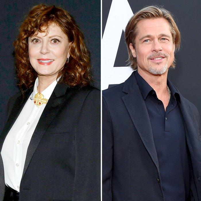 Susan Sarandon elogia que Brad Pitt no se vea bien