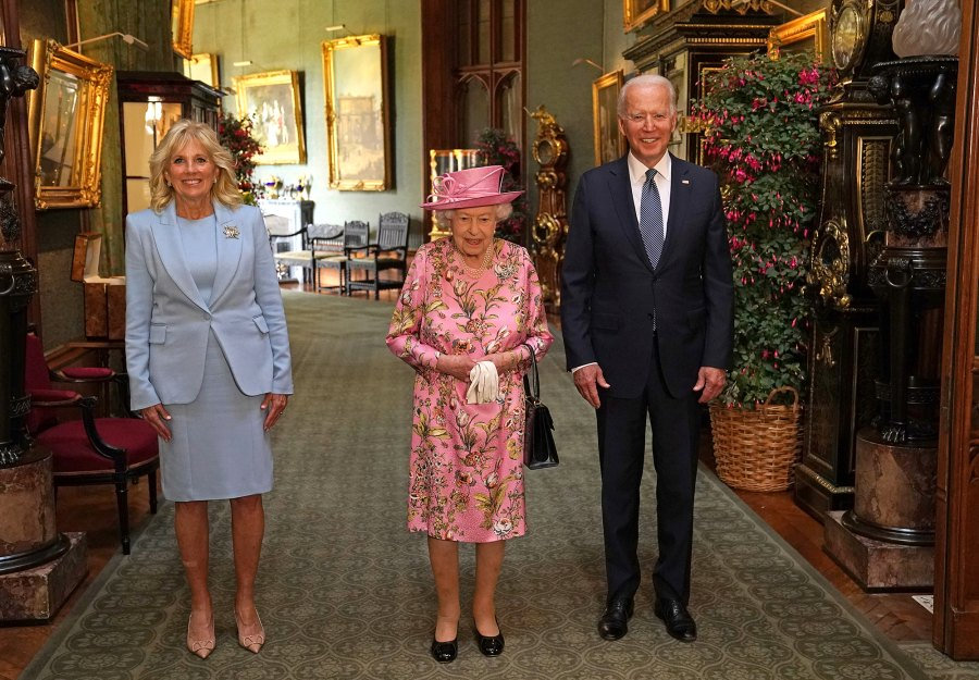 The Bidens Take Britain! The Royal Family Mets President Joe Biden and Dr. Jill Biden: Photos