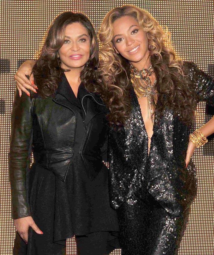 Tina Knowles reacciona a las afirmaciones de que Beyonce lucha contra la ansiedad social