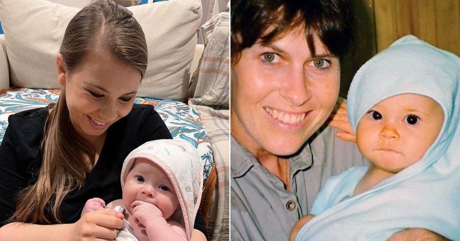 Twinning! Bindi Irwin Looks Just Like Daughter Grace in Throwback Pic