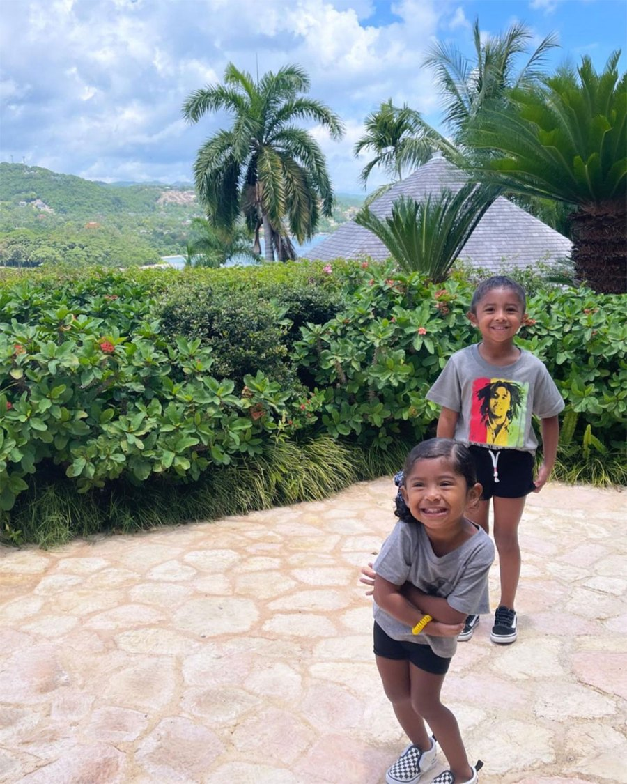 Vanessa Bryant and Daughters Vacation in Jamaica With Late Kobe Bryant Family 2