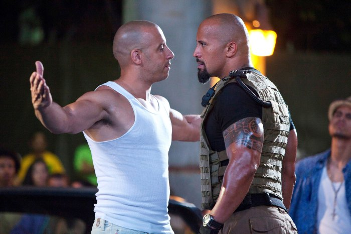Vin Diesel explica la pelea de F9 con The Rock Dwayne Johnson Fast Five