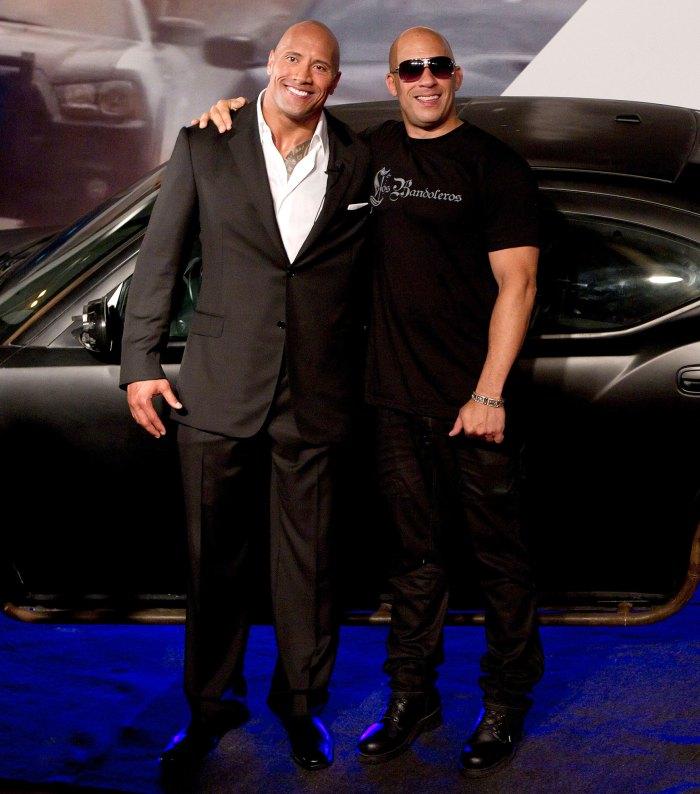 Vin Diesel explica la pelea de F9 con The Rock Dwayne Johnson