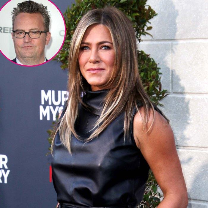 Lo que la reunión de amigos le enseñó a Jennifer Aniston sobre Matthew Perry