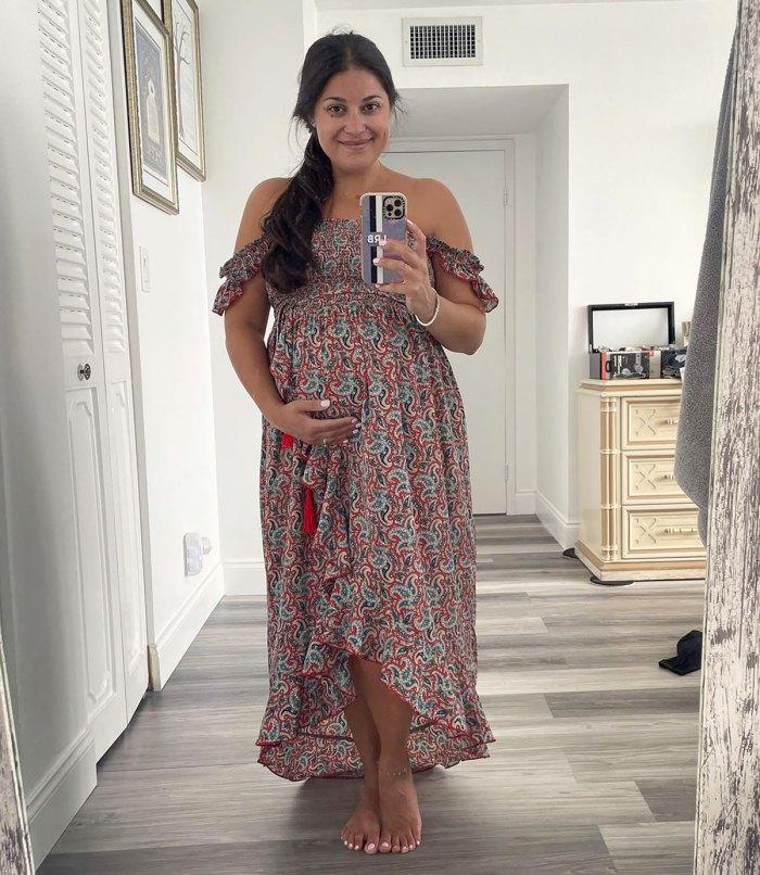 Por qué Loren Brovarnik, embarazada de su prometido de 90 días, está 'nerviosa' por su segundo bebé