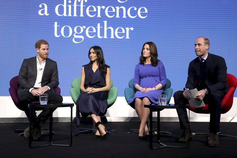 William Harry Kate and Meghan attend Royal Foundation Forum Prince William and Duchess Kate Relationship With Prince Harry and Meghan Markle