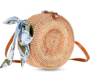 XMeng Store Rattan Bags for Women