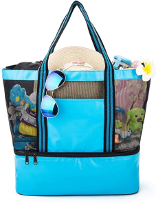 Yodo Beach Tote Bag with Insulated Cooler