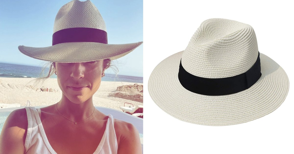 Channel Kristin Cavallari's Cabo Style With This Ultra-Similar Sun Hat.jpg
