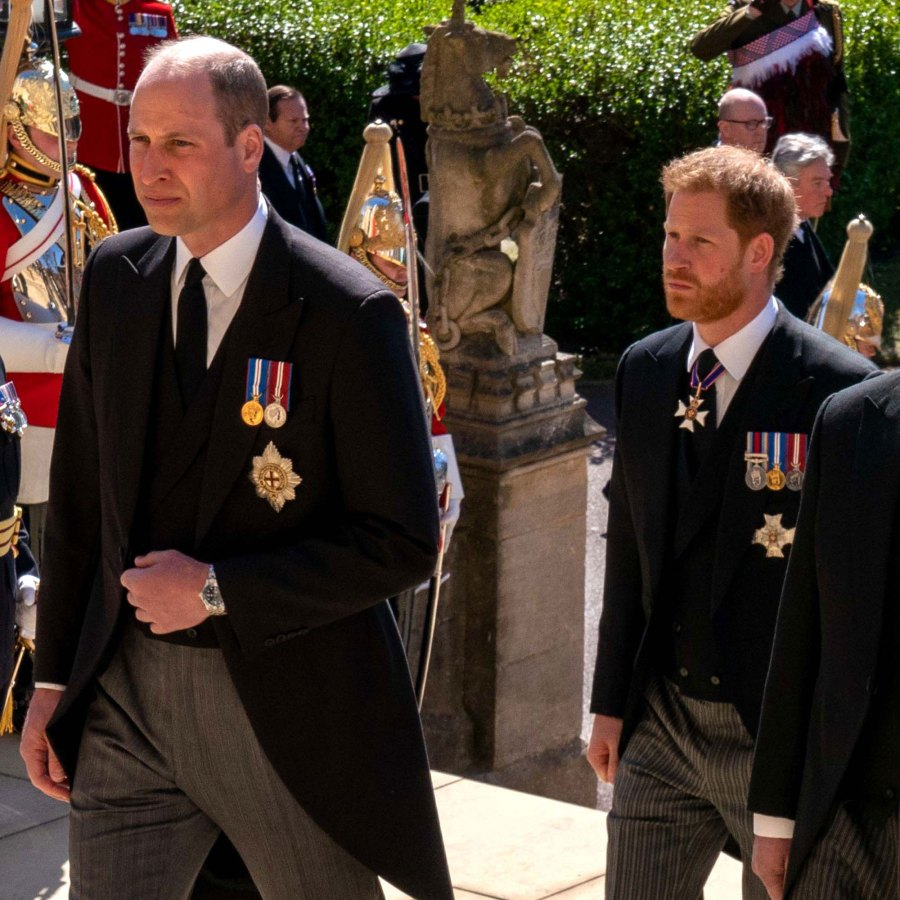 mend things after Prince Philip funeral Prince William and Duchess Kate Relationship With Prince Harry and Meghan Markle